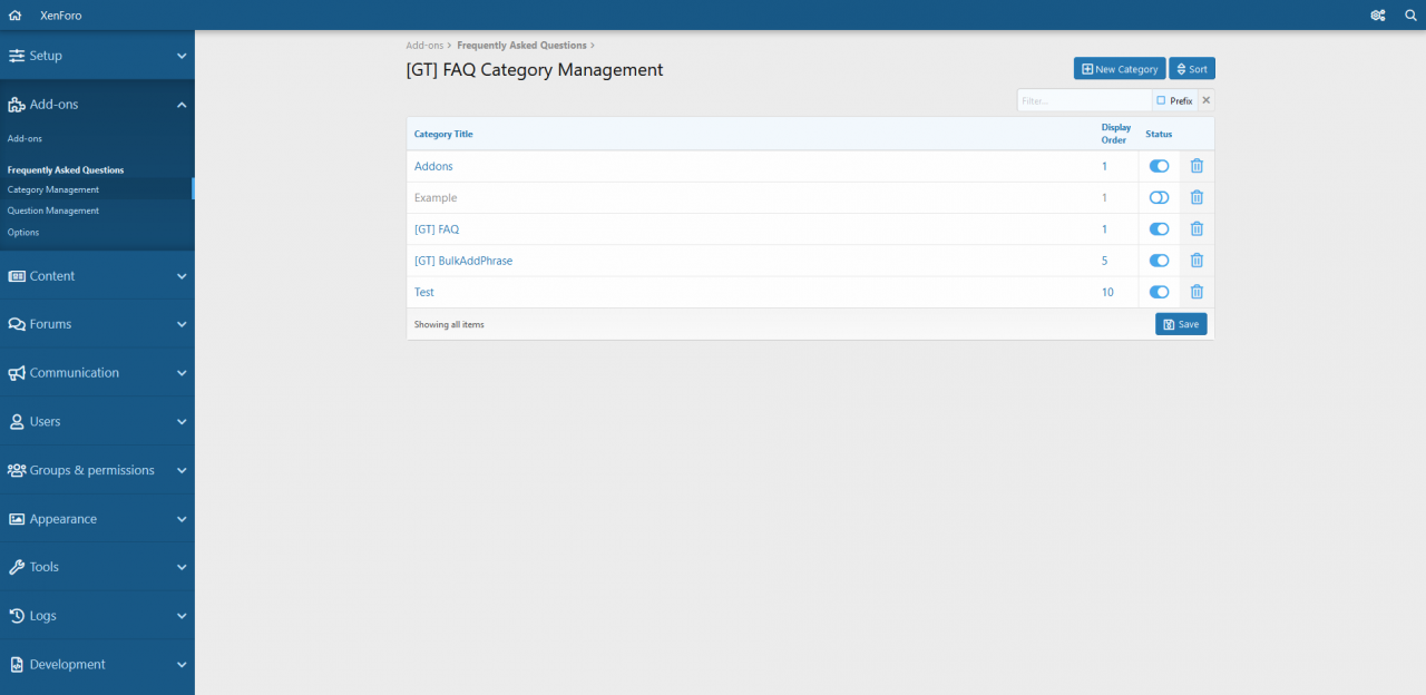 GT  FAQ Category Management   XenForo   Admin control panel.png